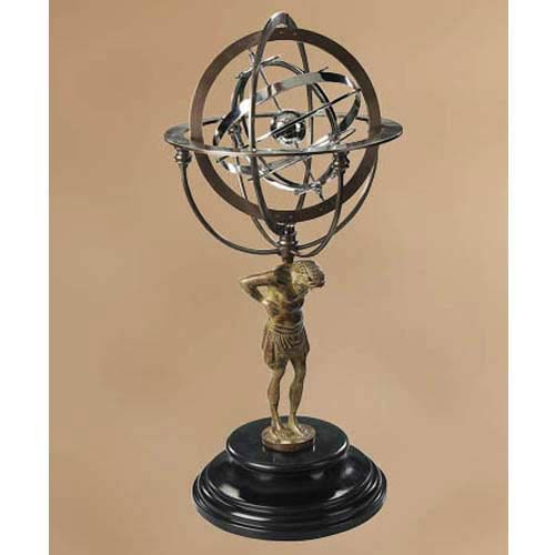 18th Century Atlas Armillary