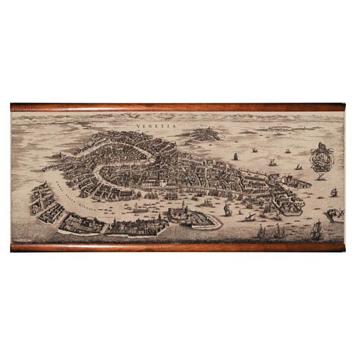 Authentic Models 1694 Venetia Map