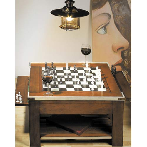 Ivory AM Game Table