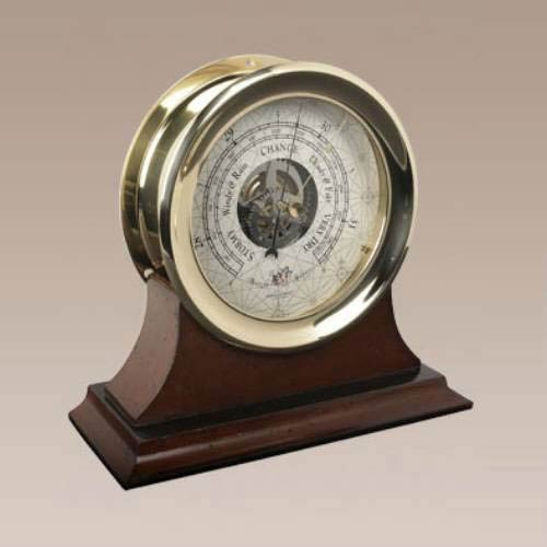 Large Captains Barometer