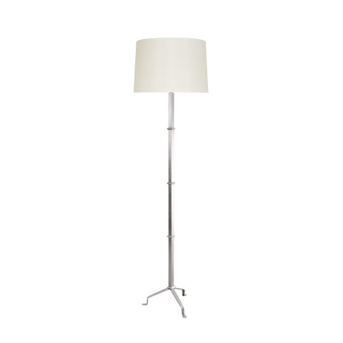 Silver Leaf 17-Inch Three Leg Floor Lamp