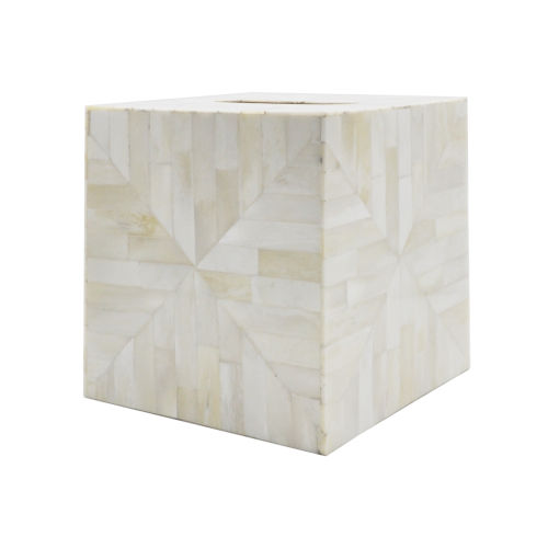 Natural Bone 6-Inch Decorative Box