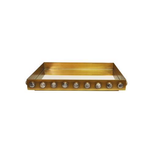 Brass Rectangular Tray