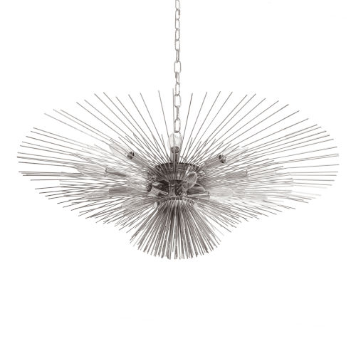 Nickel 16-Light Chandelier