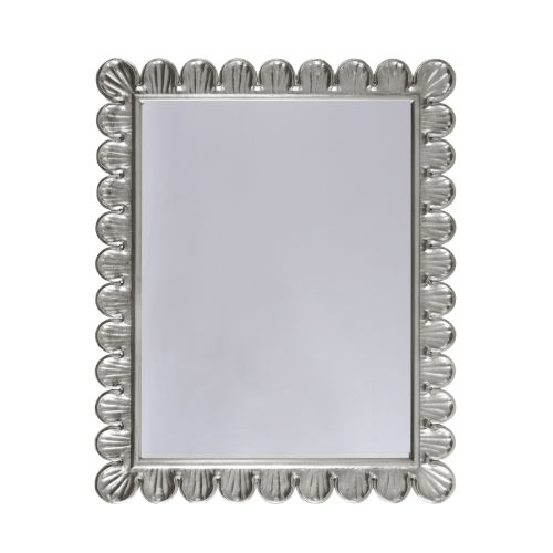 Silver Leaf 32-Inch Wall Mirror
