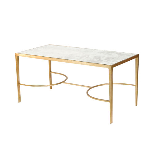 Gold Leaf 40-Inch Coffee Table
