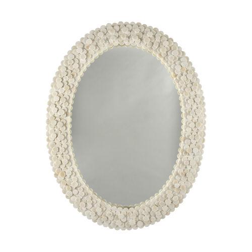 Natural Bone 31-Inch Wall Mirror