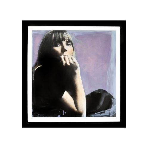 Black Joni Mitchell Wall Frame