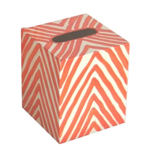 Orange and Cream 5-Inch Kllenex Zebra Box