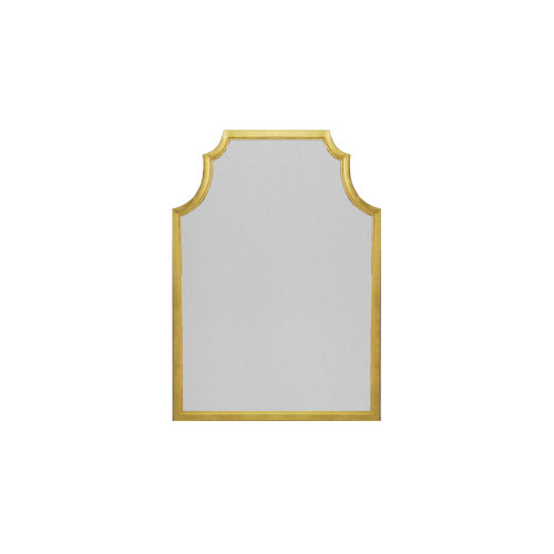 Gold Leaf 30-Inch Wall Mirror