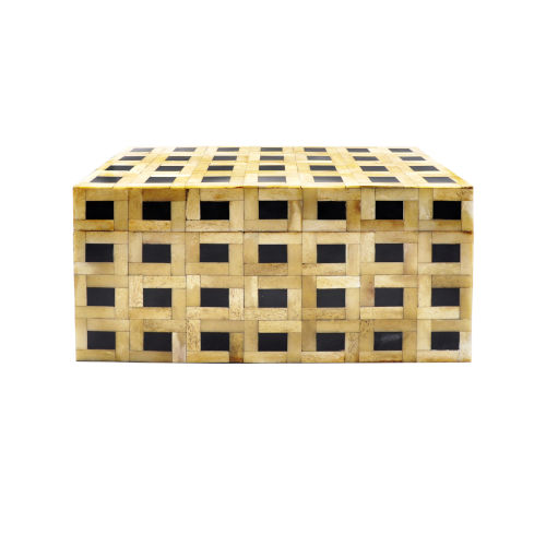 Natural Bone 14-Inch Decorative Box