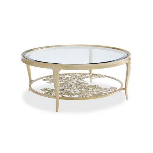 Classic Gold Handpicked Coffee Table