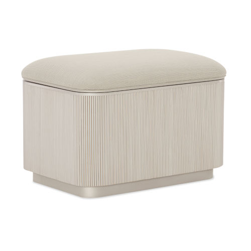 Classic Beige For the Love of Ottoman
