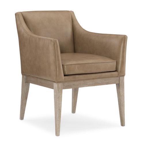 Classic Tan Arm Chair