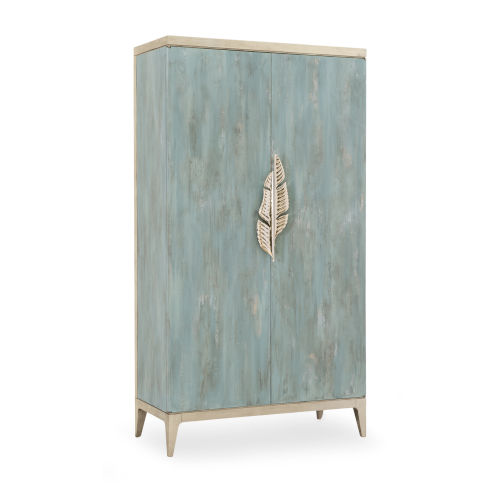 Classic Turquoise Armoire