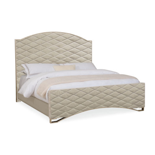 Classic Beige Quilty Pleasure Queen Bed