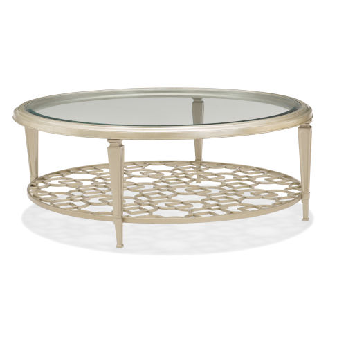 Classic Gold Social Gathering Coffee Table