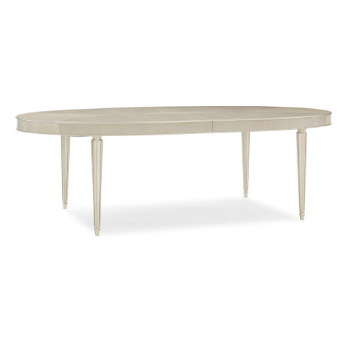Caracole Classic Soft Silver Paint and Beige The Source Table