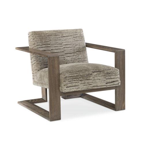 Modern Fusion Gray Chair