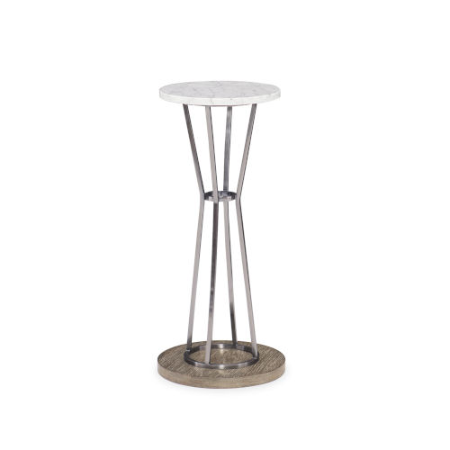 Modern Fusion Gray Fusion Drink End Table