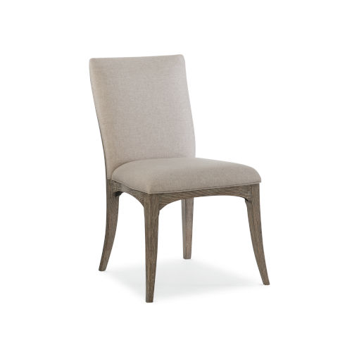 Modern Fusion Beige Dining Chair