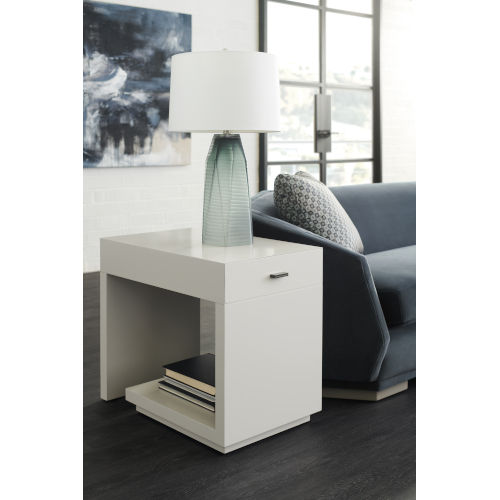 Modern Expressions Winter Haze End Table