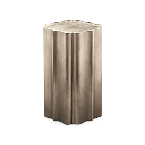 Classic Gold Gold Is Up End Table