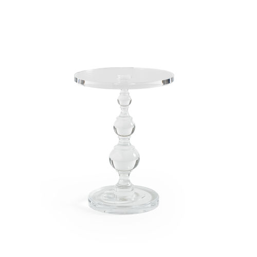 Classic Transparent End Table