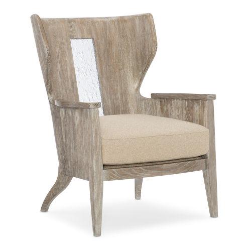 Classic Brown Peek A Boo Arm Chair