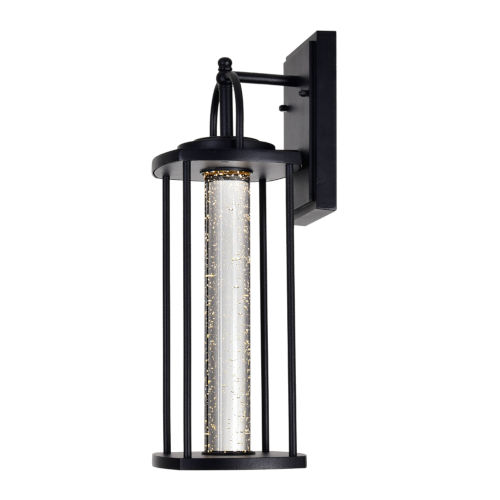 Greenwood Black 18-Inch LED Outdoor Wall Sconce