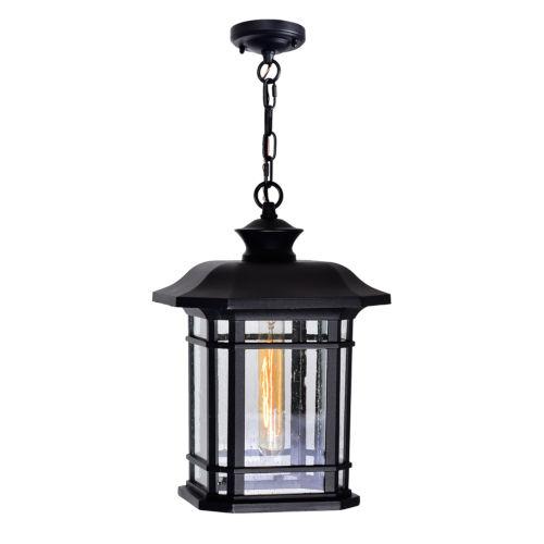 Blackburn Black One-Light Outdoor Pendant