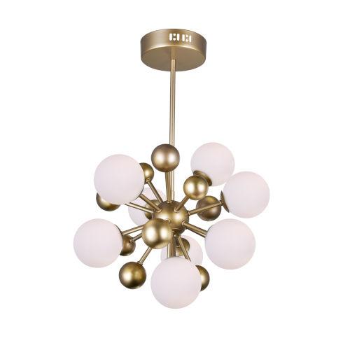 Element Sun Gold Eight-Light Chandelier