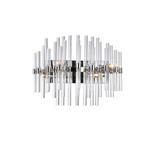 Miroir Polished Nickel Four-Light Bath Vanity