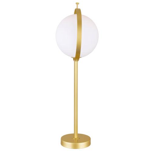 Da Vinci Brass 25-Inch LED Table Lamp
