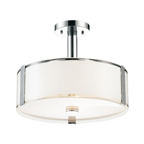 Lucie Chrome Five-Light 11-Inch Chandelier