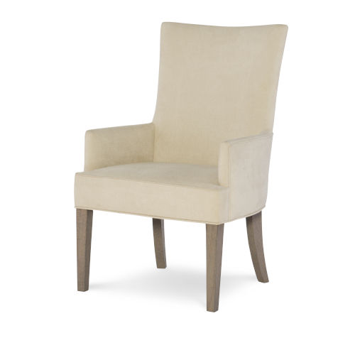 Highline by Rachael Ray Greige Host Chair, Set of Two