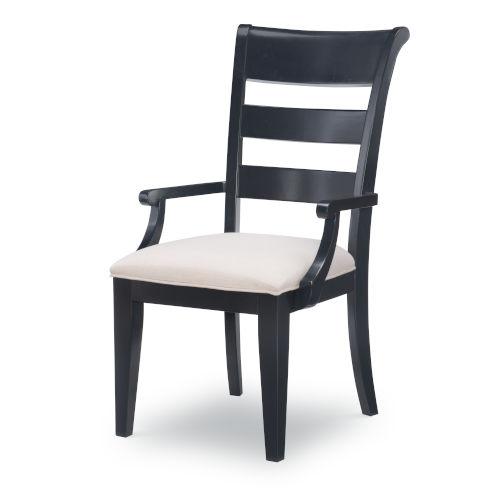 Breckenridge Indigo Blue Arm Chair, Set of Two