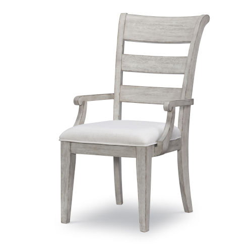 Belhaven Weathered Plank Arm Chair, Set of Two
