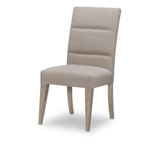 Milano by Rachael Ray Sandstone Upholstered Back Side Chair