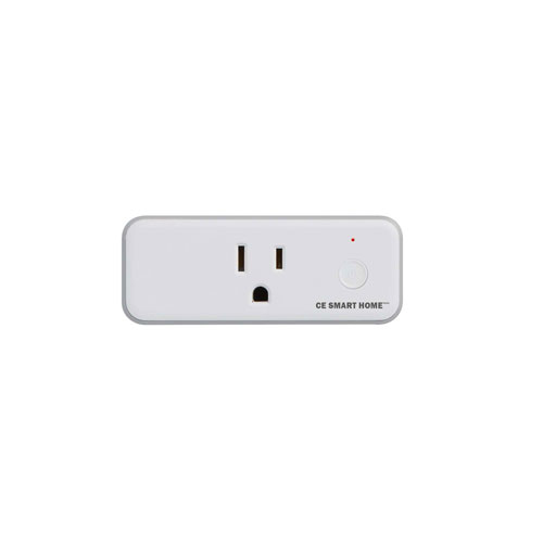 CE Smart Home White Plug-In Smart Outlet