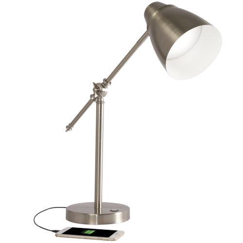 Harmonize Grey LED Desk Lamp