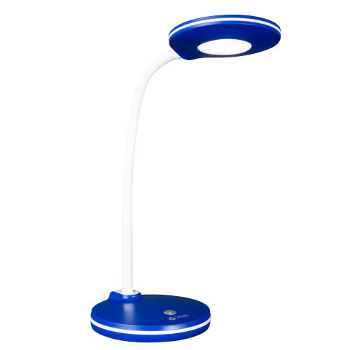 Blue LED Desk Lamp