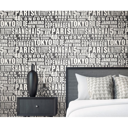 NextWall Around the World Peel and Stick Wallpaper