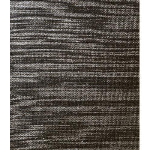 Lillian August Luxe Retreat Onyx Sisal Grasscloth Unpasted Wallpaper