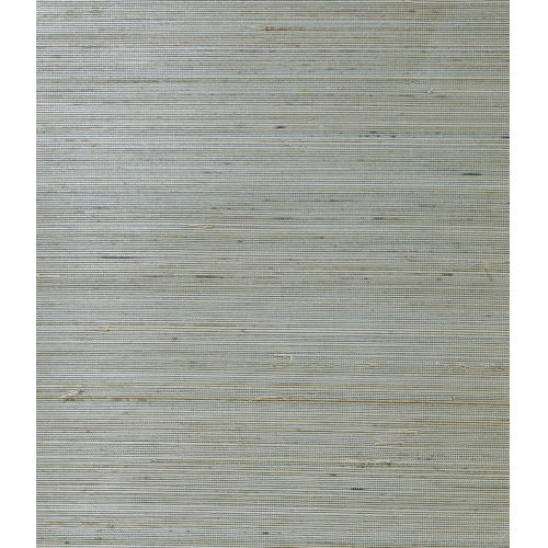 Lillian August Luxe Retreat Lake Forest and Sandy Shore Abaca Grasscloth Unpasted Wallpaper
