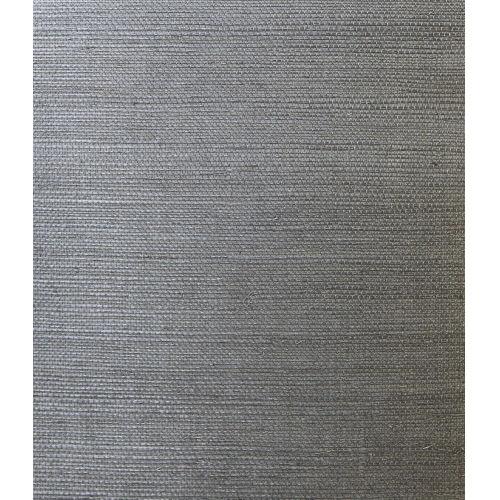 Lillian August Luxe Retreat Graphite Sisal Grasscloth Unpasted Wallpaper