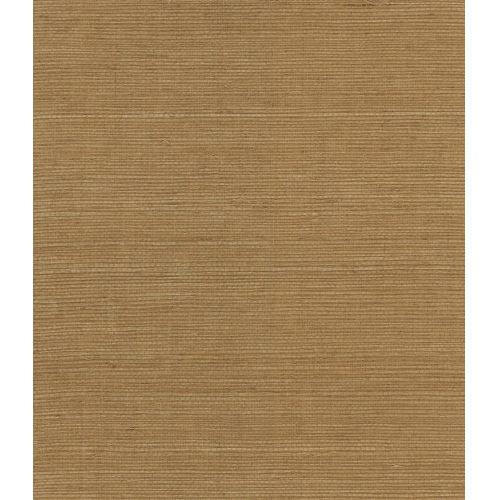 Lillian August Luxe Retreat Golden Walnut Sisal Grasscloth Unpasted Wallpaper