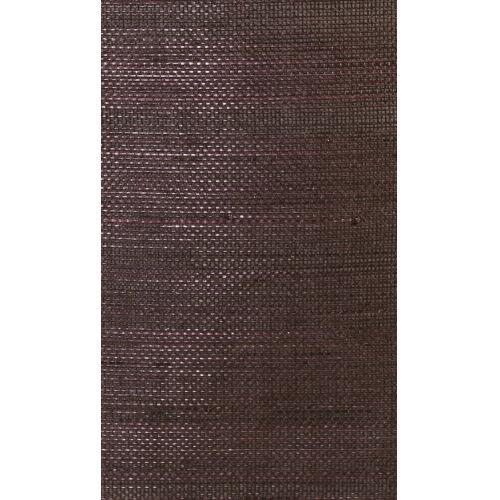 Lillian August Luxe Retreat Deep Plum Abaca Grasscloth Unpasted Wallpaper