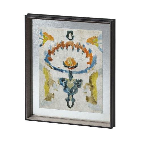 Multicolor Bohemian Ikat VI Wall Art