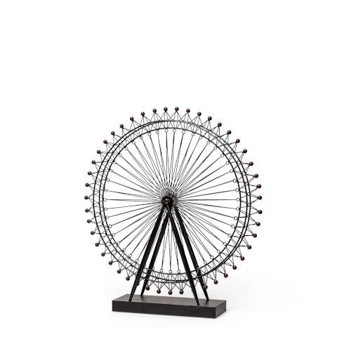 London Gray Eye Decorative Ferris Wheel Decorative Object